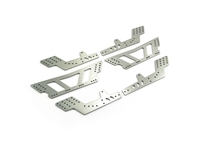 FTX FTX8781 ftx mauler aluminium anodised chassis plate set (6pcs)