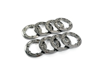 FTX FTX8934 ftx ravine wheel plated beadlock rings