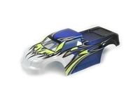 FTX FTX9082BY ftx comet monster truck bodyshell painted blue/yellow