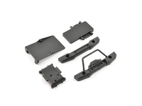 FTX FTX9300 ftx mini outback 2.0 fr/rr bumpers & electronics mounts