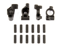 Team Associated 21507 associated reflex 14b/14t rear hubs/caster blocks + inserts