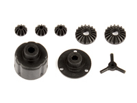 Team Associated 21529 associated reflex 14b/14t differential case set