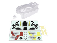 Team Associated 21541 associated reflex 14b clear bodyshell