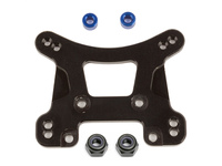 Team Associated 21559 team associated reflex 14b/14t front shock tower black alum.