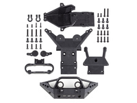 Team Associated 25801 team associated rival mt10 skid plates set