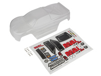 Team Associated 25838 team associated rival mt10 clear bodyshell