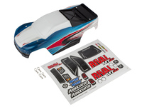 Team Associated 25839 team associated rival mt10 painted bodyshell red/blue