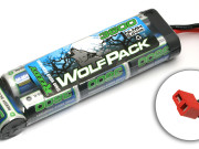 WolfPack NiMH 3600mAh 8.4V w/ High Power Connector Reedy