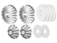 Corally C-00180-179 Planetary diff. gears steel 1 set