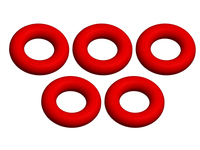 Corally C-00180-188 Oring silicone 4x8mm 5 pcs