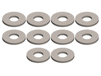 Corally C-00180-190 Shock washer 2.5x6x0.5mm steel 10 pcs