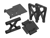 Corally C-00180-301 Center roll cage mount composite 1 set