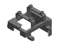 Corally C-00250-012 Esc holder cora 40 composite Triton