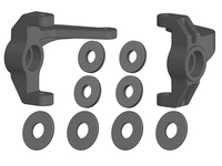 Corally C-00250-029 Steering block l/r composite 1 set Triton