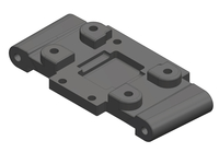 Corally C-00250-058 Bulkhead rear composite Triton