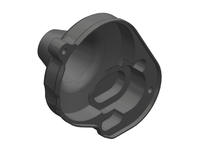 Corally C-00250-060 Gear cover composite Triton