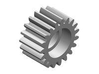 Corally C-00250-065 Idler gear 19t metal Triton