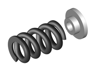 Corally C-00250-090 Slipper clutch spring 1 pc + washer Triton