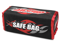 lipo safe bag for 2 pcs 2s hard case batter Corally
