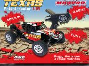 Voiture Texas MHD 1/18 (Complète avec radio, accus et chargeur) Mhd
