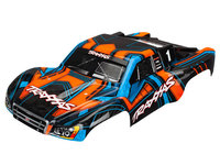 Traxxas 6844 carrosserie slash 4x4 peinte et decoree orange