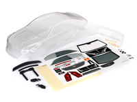 Traxxas 8391 carrosserie transparente cadillac cts-v + autocollants