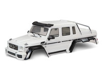 Traxxas 8825A carrosserie complete mercedes benz classe g63 6x6 blanche