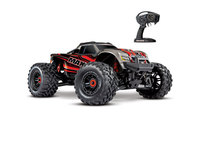 Traxxas 89076-4-RED Traxxas Maxx 1/10 brushless TSM (Rouge)