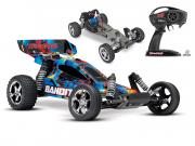 Traxxas Bandit Rock 'n roll  Brushed (sans batterie / chargeur) Traxxas
