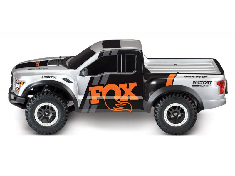 Detail chassis Traxxas Slash Ford Raptor F-150- 4x2 1/10 brushed TQ 2.4ghz  id