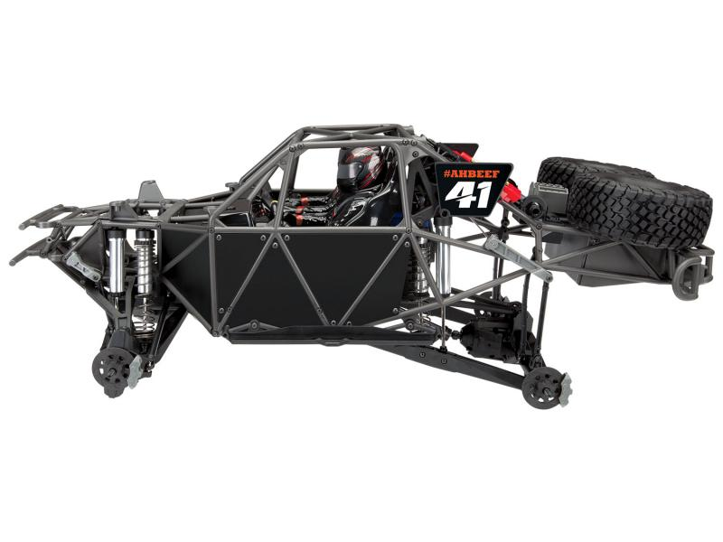 Detail chassis Traxxas The Unlimited Desert Racer Pro-Scale