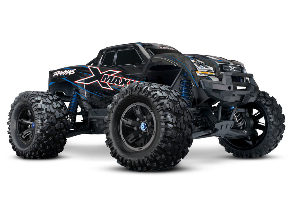 Achat Traxxas TRX77086-4-BLUE X-Maxx 8s brushless iD / TSM / Wireless Bleu