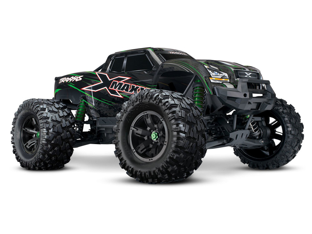 Achat Traxxas TRX77086-4-GRN Traxxas X-MAXX 8S Id WIreless TSM Green Version